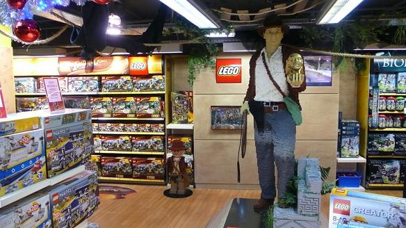 Indy Lego w Londku